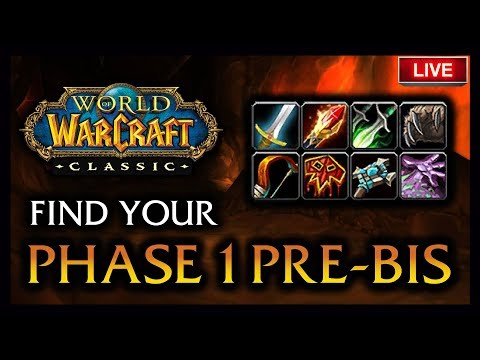 🔥 THE BEST WAY TO FIND YOUR PHASE 1 PRE-RAID BIS - CLASSIC SOON BOYS