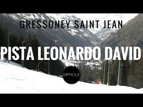 Gressoney Saint Jean, Weissmatten: pista Leonardo David