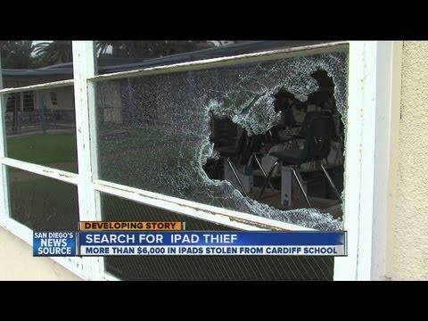Deputies say Cardiff Elementary School burglarized; Dozen iPads stolen
