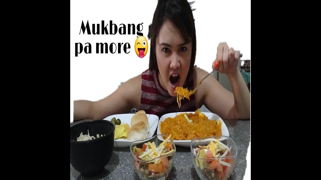 #palabok #carbonara #tacos #bread #egg #mukbang PALABOK | TACOS | CARBONARA | BREAD | EGG | MUKBANG