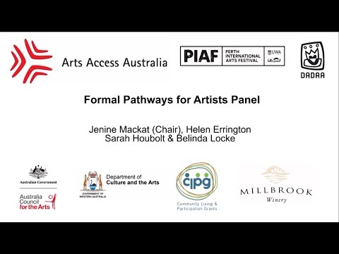 Meeting Place 2017 - Part 5 - Formal Pathways for Artists Panel Session