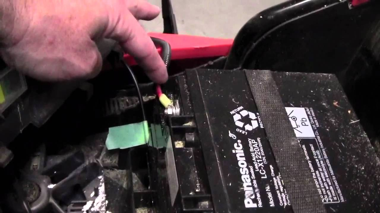 maxresdefault black and decker lawn mower cmm 1000 how to change the battery in wiring diagram for black and decker electric lawn mower at gsmportal.co