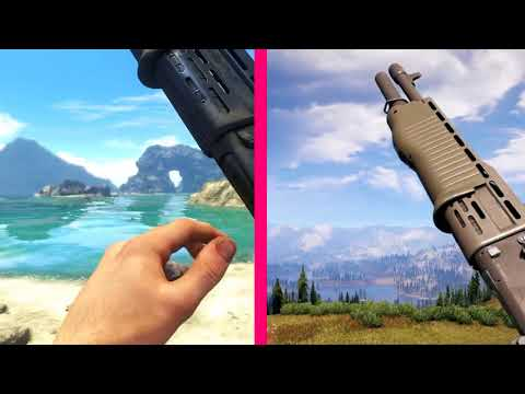 Far Cry 5 Guns Reload Animations vs Far Cry 3   YouTube