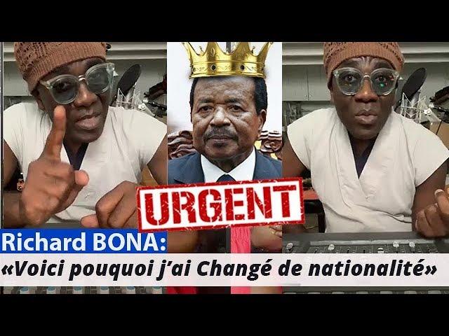 Succession de Paul BIYA: Richard BONA alerte les Camerounais et fait de graves révélations