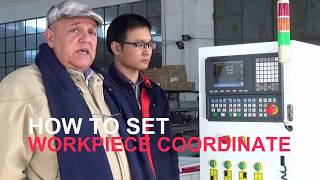 Workpiece Coordinate Setting Guide - Syntec Control System ATC CNC Router