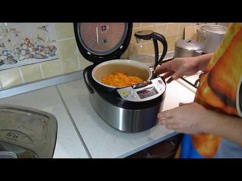 Как приготовить рыбу в мультиварке с луком и морковью