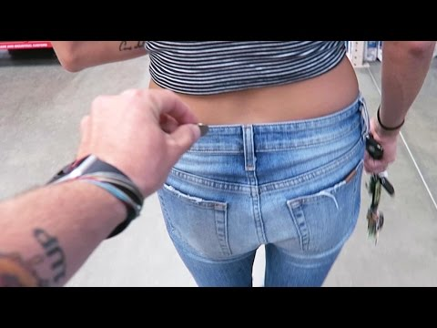 PENNY IN THE BUTT! (5.29.15 - Day 2222)