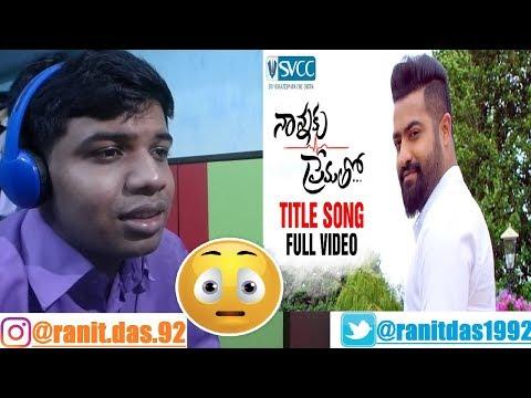 Nannaku Prematho Title Song Full Video Jr,Rakul Preet Singh Reaction & Thoughts
