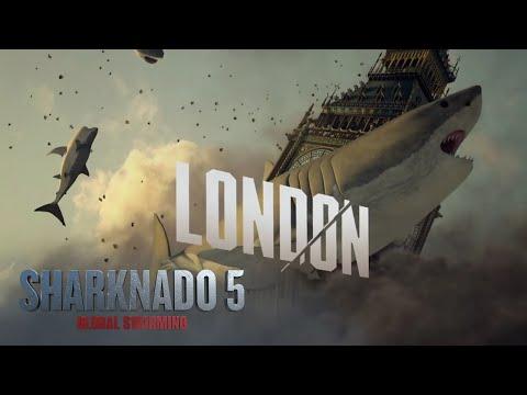 SHARKNADO 5 | Behind The Sharks: London | SYFY