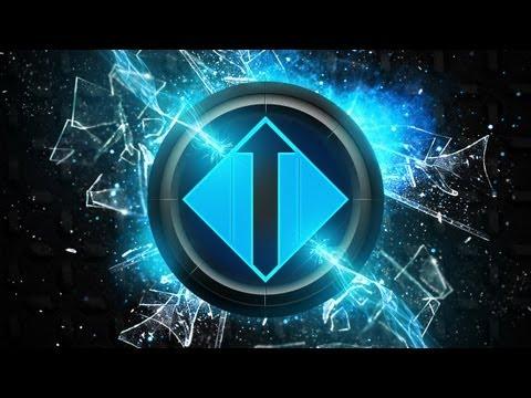 Blue Aura Logo - Inspired by Stratzeh   Photoshop Tutorial