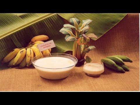 Curso Receitas com Banana - Iogurte de Banana