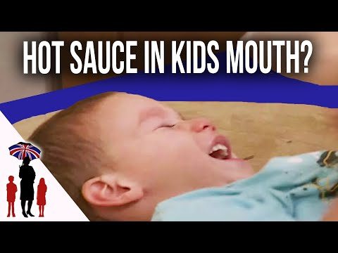 Dad Puts Hot Sauce In Son's Mouth To Discipline Him. | Supernanny