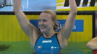 Sarah Sjostrom sets 100m Fly World Record - Universal Sports