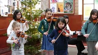 Académie Berchem-Sainte-Agathe 1/ auditions hors public improvisées 2/ Noël 2020