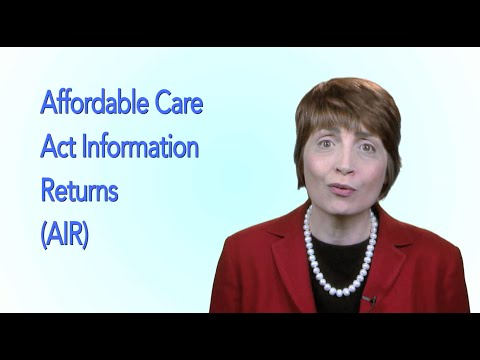 Health Care Law: Information Reporting for Self-Insured Employers