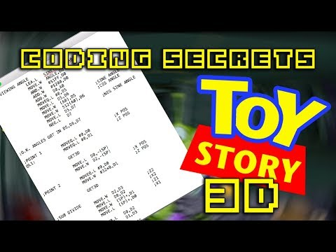 CODING SECRETS! How TOY STORY'S 3D was programmed