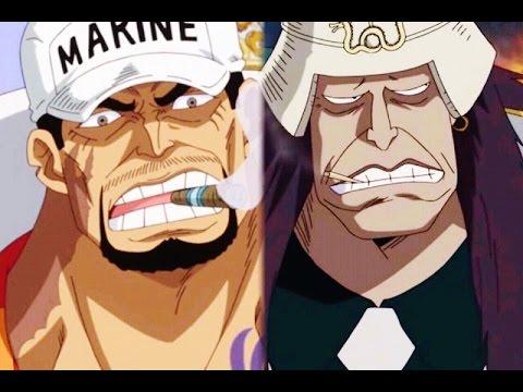 One Piece - The Admirals