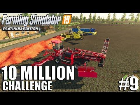 10 Million CHALLENGE | Nordfriesische Marsch | FS19 Timelapse #9 | Farming Simulator 19 Timelapse