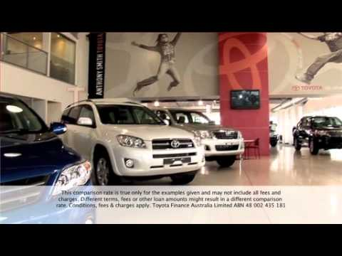 Anthony Smith Toyota 2.9% Comparison Rate
