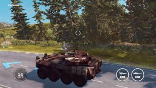 Just Cause 3 tank attack