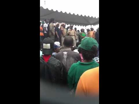 Benin City. NLC/TUC rally for Comrade Oshiomhole