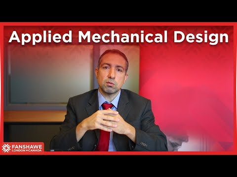 Applied Mechanical Design | Program Information | Fanshawe International