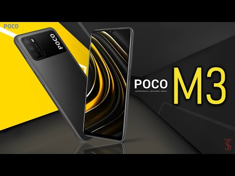 Poco M3 Price, Official Look, Design, Camera, Specifications, Features, and Sale Details