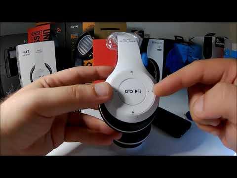 P47 Extra Bass Wireless Bluetooth Kulaklık 5.0+EDR FM Radyo