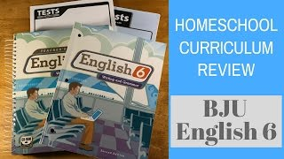 homeschool curriculum review bju english 6