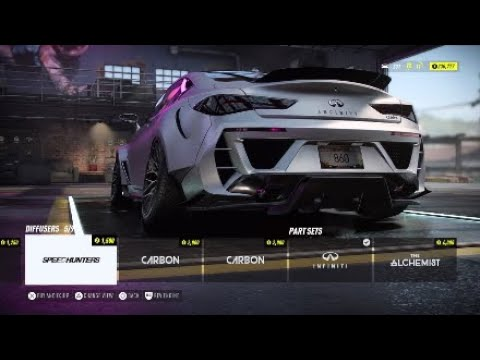 INFINITI Q60s Build & Race - Need For Speed Heat