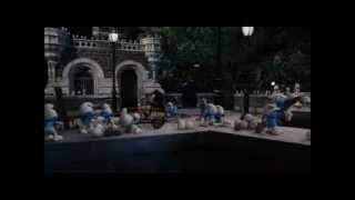 smurfs stand against Gargamel