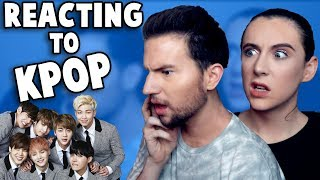 REACTING to KPOP (BTS, EXO, 2ne1 & more!)