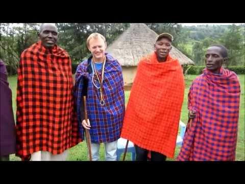 Microfinance Intern Visiting Masai Tribe in Africa