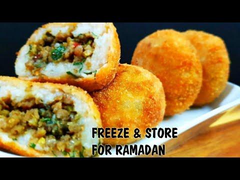 Keema Aloo Patties L Ramadan Recipes L Freeze And Store For Ramzan L Cooking With Benazir