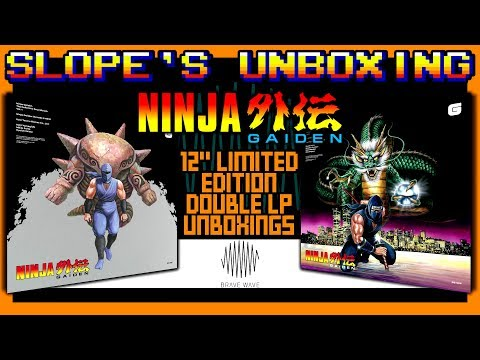 Ninja Gaiden Limited Edition Brave Wave Record Un-Boxings - SGR