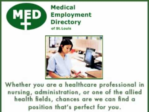 Medical Employment Directory of St. Louis, St. Louis, MO