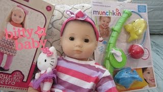American Girl Bitty Baby Doll Daphnee Outing to Target + Our Generation Outfit + Bath Toy