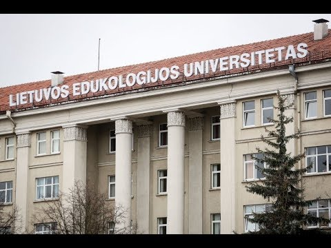 Erasmus+ aftermovie LEU, Vilnius