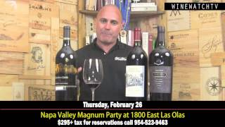 Event! Napa Valley Magnum Party at 1800 East Las Olas