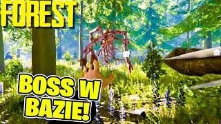 THE FOREST MULTI #17 - GŁÓWNY BOSS NAS ZAATAKOWAŁ W BAZIE!!!