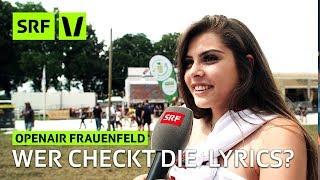 Openair Frauenfeld: Weisst du eigentlich, was «Bad and Boujee» oder «Gosha» heisst?