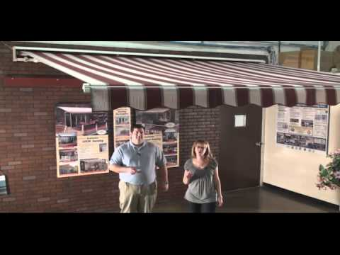 SunSetter Motorized and Motorized XL Awnings