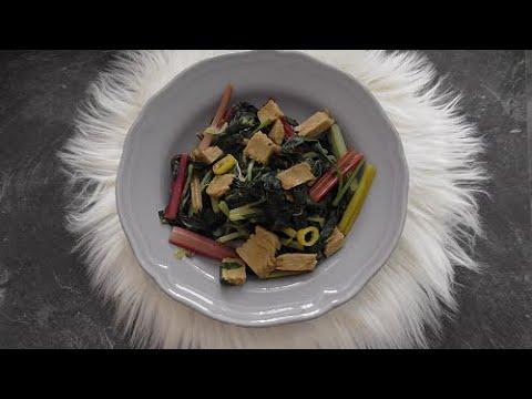 Zomerse recept Snijbiet (vegetarisch)