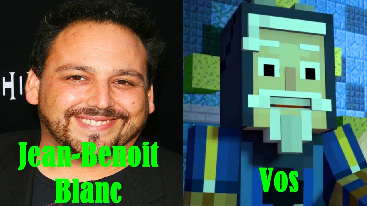 Characters And Voice Actors Minecraft Story Mode Season 2 Episode 1 Hero In Residence Youtube