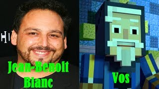 Characters and Voice Actors - Minecraft Story Mode Season 2 Episode 1: Hero in Residence