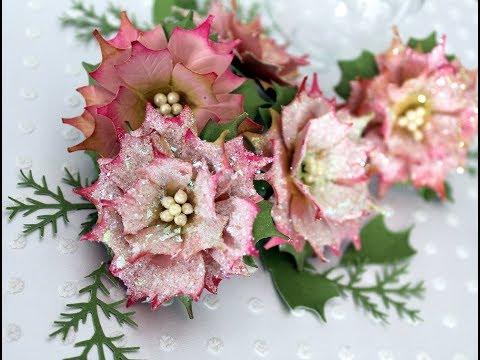 Paper Flower Making - Shabby Chic Poinsettia by Archana Joshi (EK Success)