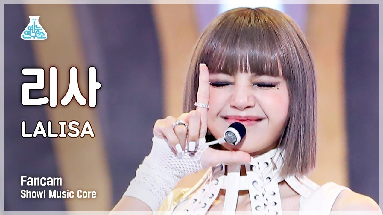 Download (ENG sub) [예능연구소 4K] 리사 세로캠 'LALISA' (LISA FanCam) @Show!MusicCore 210925
