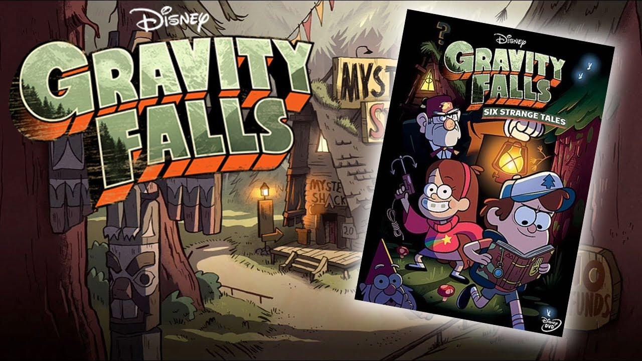 Free Fall Disney Wallpaper Gravity Falls Quot Six Strange Tales Quot Dvd Review Aficionados