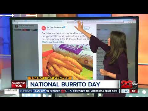 National Burrito Day Deals