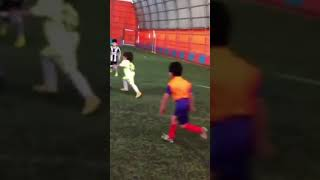 A 5year old kid the next generation of Messi